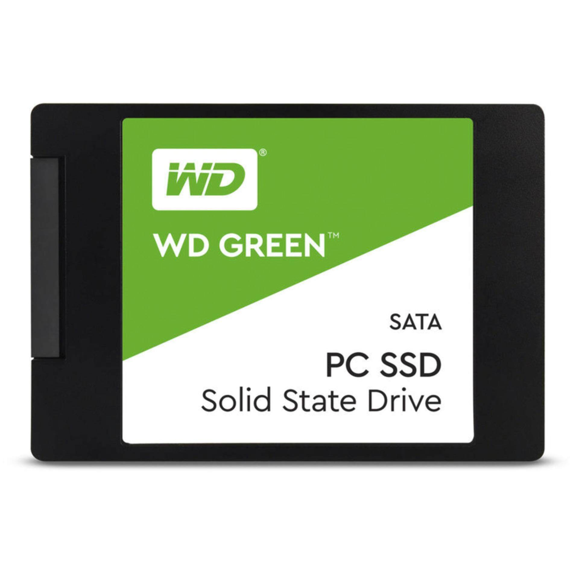 Wdssd 120gb Green (wds120g2g0a) By Lazada Retail Wd.