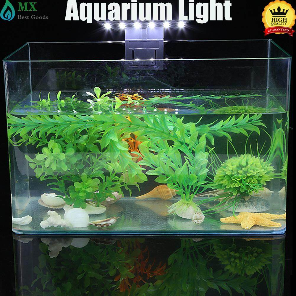 Minxin Waterproof Clip-On Lamp Slim Led Aquarium Light Plants Grow Lighting - Intl By Minxin.