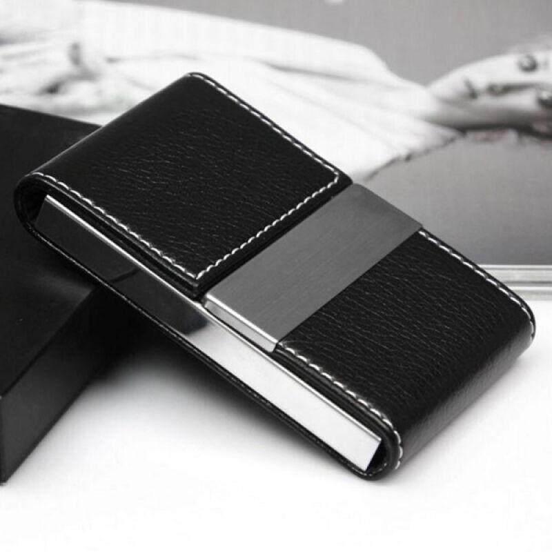 กระเป๋าใส่นามบัตร กล่องใส่นามบัตร สเตนเลสสตีล 1940 By Sila Store.