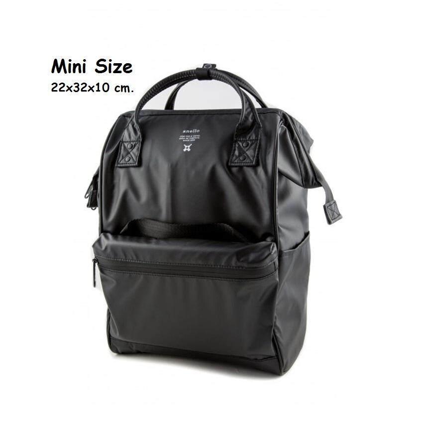 ยี่ห้อนี้ดีไหม  ระนอง Anello Mini Water Resistant 2nd Edition กระเป๋าเป้ขนาดมินิ กันน้ำ 100% รุ่น OS-B010-BK (สีดำ)