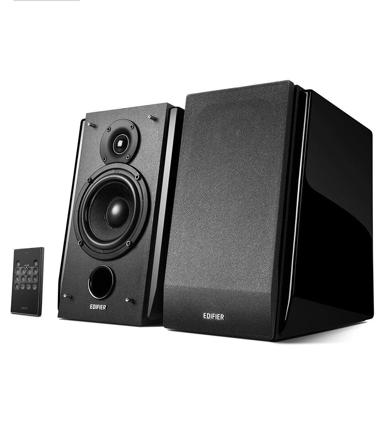 ยโสธร Edifier R1850DB Active Bookshelf Speakers with Bluetooth and Optical Input - 2.0 Studio Monitor Speaker - Built-in Amplifier with Subwoofer Line Out รับประกัน 2 ปี