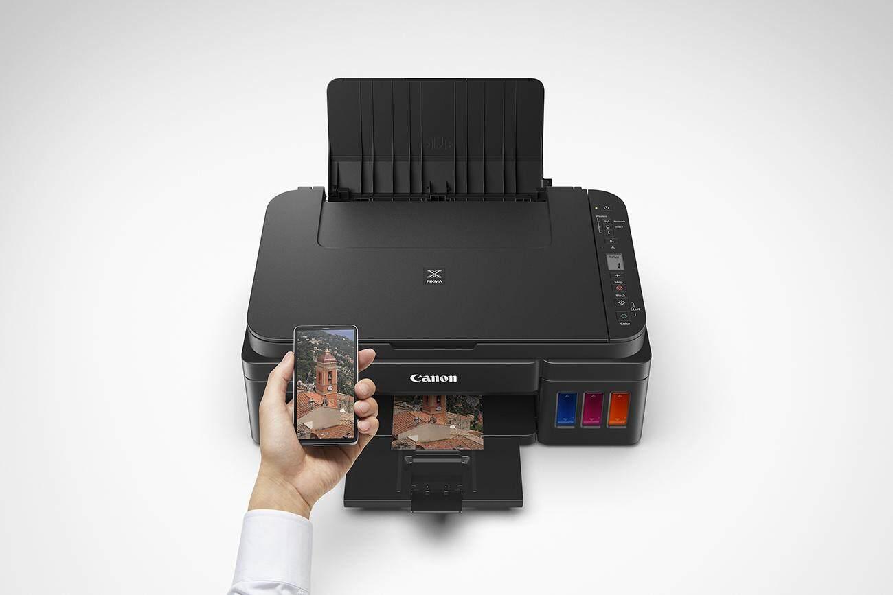 สุดยอดสินค้า!! Printer CANON PIXMA G3010 + INK TANK Print / Copy / Scan / WiFi ส่งฟรี Kerry