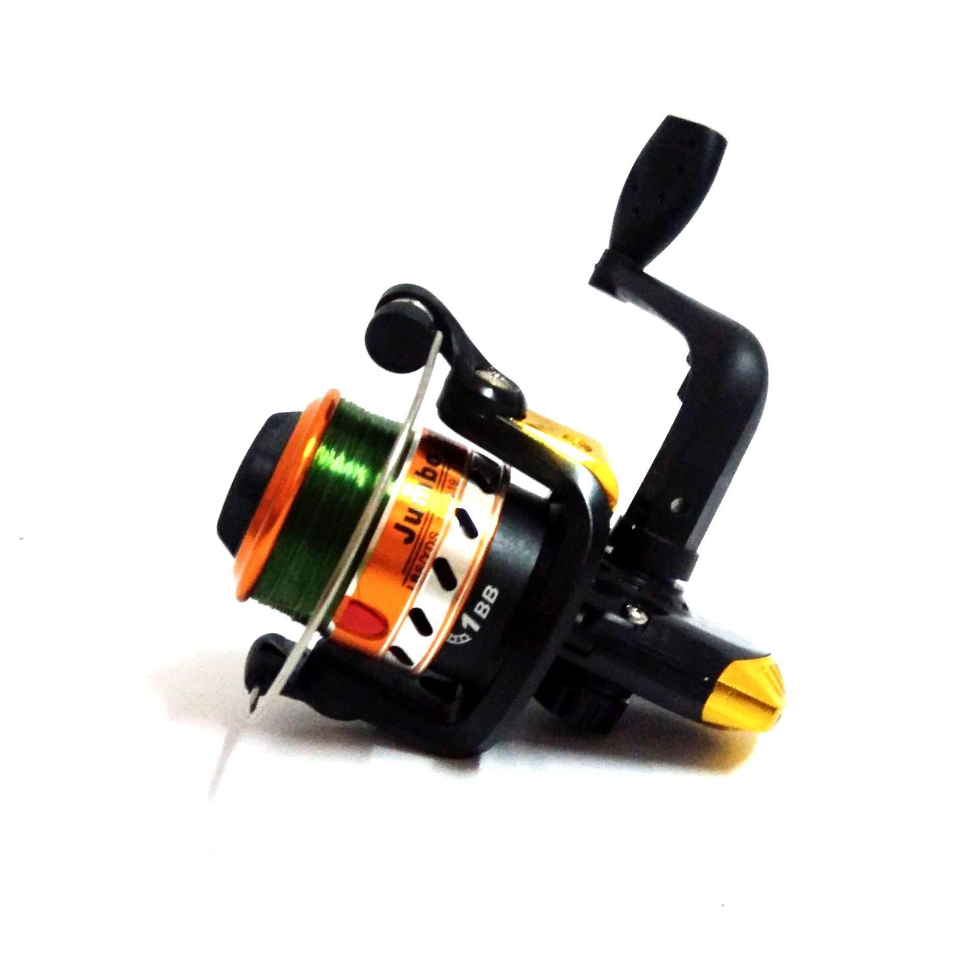 รอกตกปลา รอกสปินนิ่ง รอกเบท อุปกรณ์ตกปลา jumbo jc100