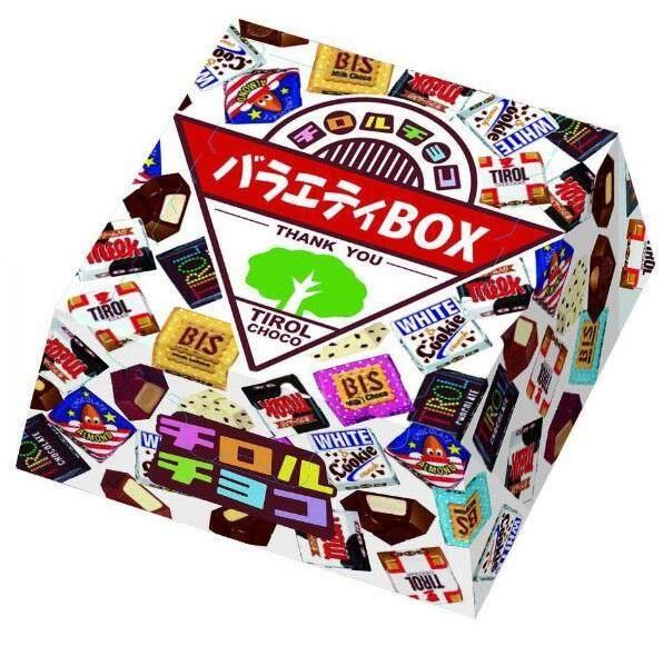 Tirol Chocolate  ช็อคโกแลตรวมสุออร่อย นำเข้าจากประเทศญี่ปุ่น (ขนาด 1 กล่อง 27 ชิ้น).
