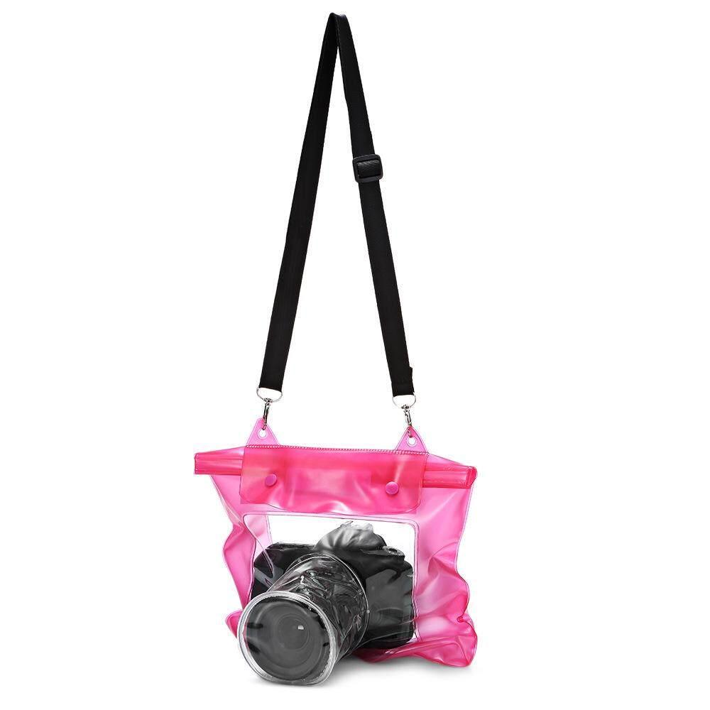 กระเป๋ากล้องถ่ายรูป Dslr แบบ Pvc กันน้ำ ซิปล็อค 2 ชั้น ราคาถูก.
