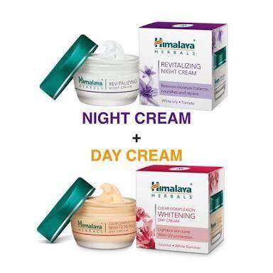 Himalaya Day Cream & Night Cream 50 Ml. ( 2 กล่อง ).