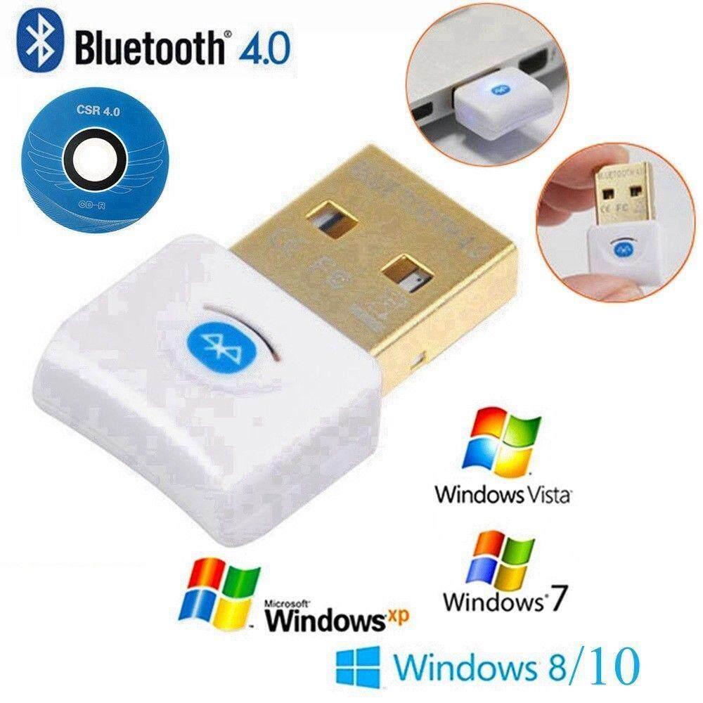 ใหม่ล่าสุด2018!!! ของแท้! มีรับประกัน! ตัวรับสัญญาณบลูทูธ 4.0 Mini Usb Bluetooth V4.0.