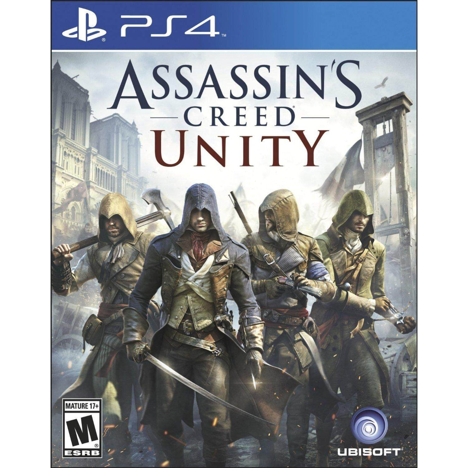 PS4 ASSASSIN'S CREED UNITY (US)