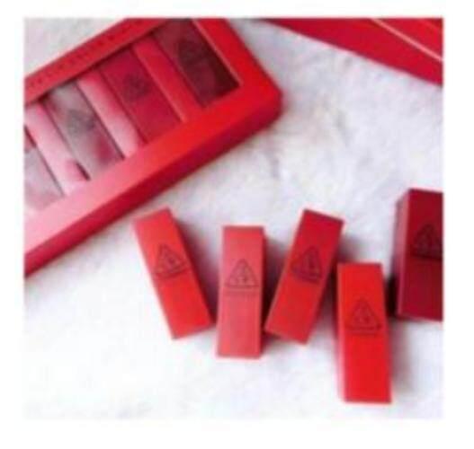 Mood Recipe Lip Color Mini Kit เซทลิปสติกโทนสีฮอตไซส์มินิ แรงไม่ตกกับเครื่องสำอางสไตล์นันดาปล่อย  .