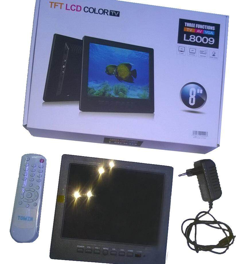 Tft Lcd Color Tv, Av,vga,pc รุ่น L8009 Monitor รับประกัน 1 ปี By Mv5074.