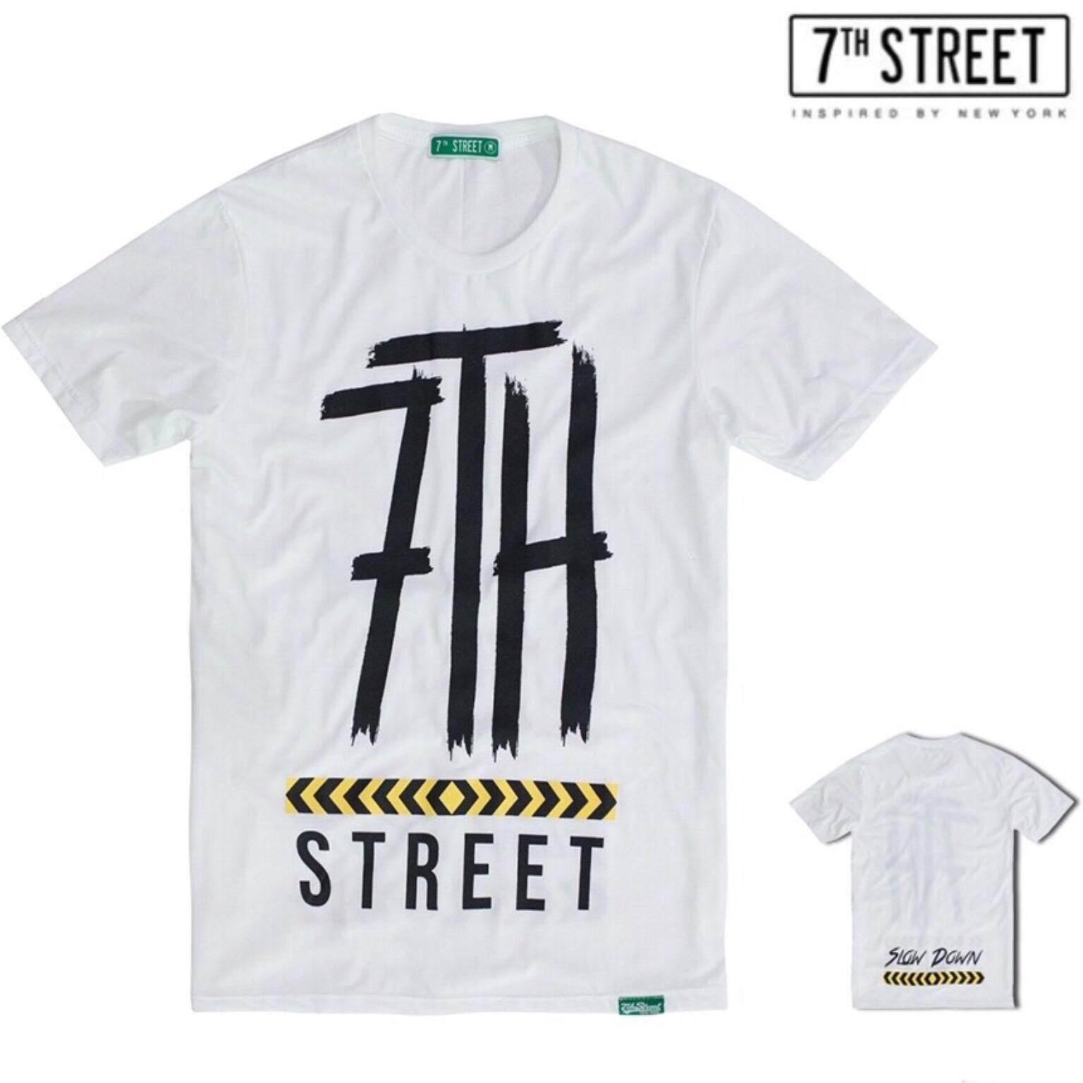 ขาย ซื้อ ออนไลน์ 7Th Street เสื้อยืด รุ่น Sld