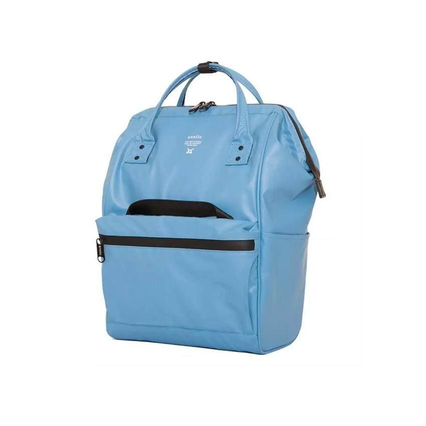 ยี่ห้อไหนดี  หนองคาย Anello Water Resistant  กระเป๋าเป้ขนาดใหญ่กันน้ำ 100% รุ่น B001-LBL (สีฟ้าอ่อน)