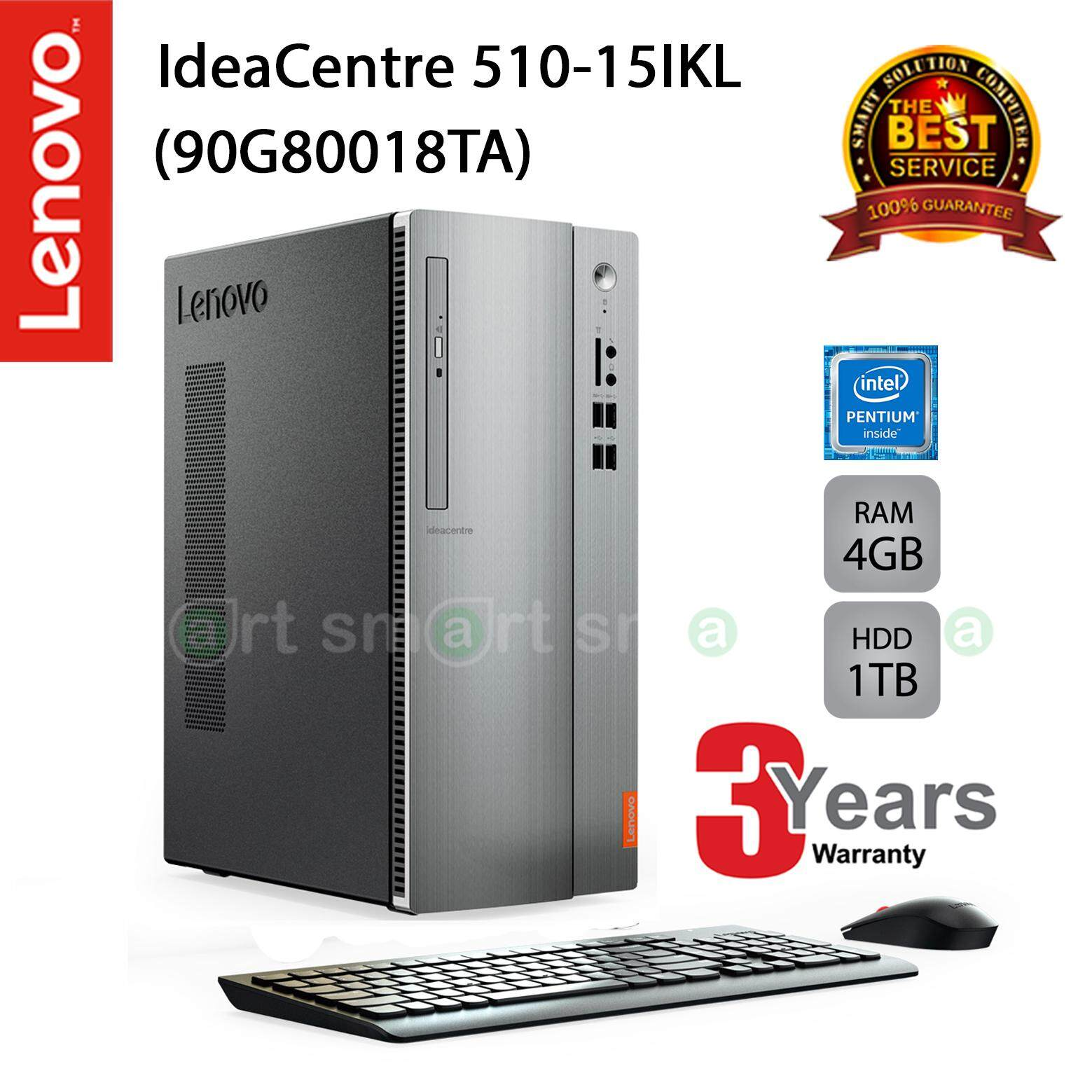 Sell Lenovo Ideacentre Cheapest Best Quality Th Store Aio510 22ish Core I3 7100t 4gb Ddr4 1tb Hd Black Thb 10490