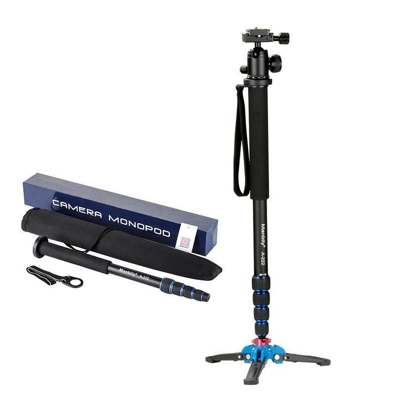 A-222 65 กล้องอลูมิเนียม Unipod Monopod + M-1 ไม้เท้าฐานขาตั้งสามขาล็อคสำหรับ Canon Nikon Sony Gopro Camera/dv By Guangzhou Lanqian Trade Co.,ltd.