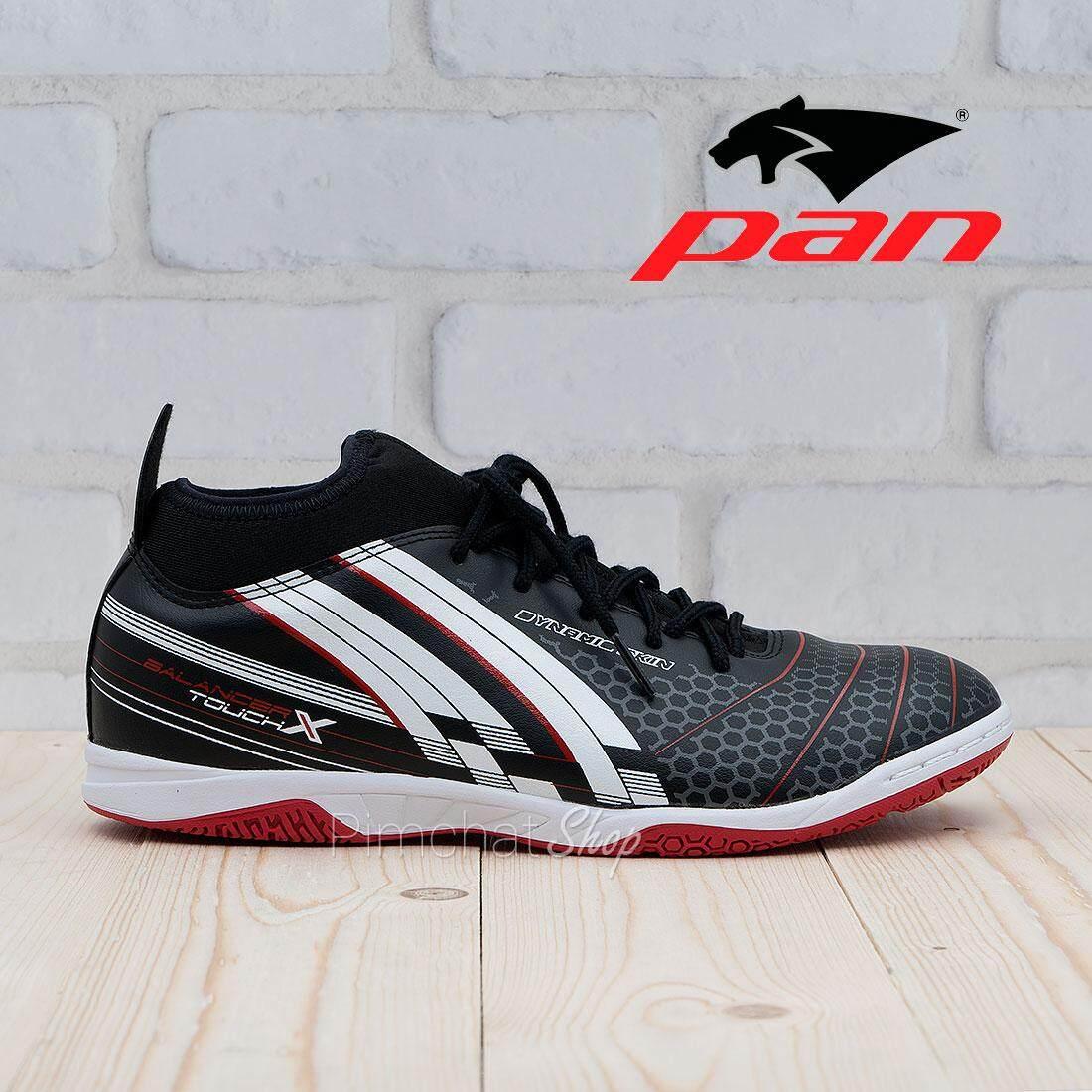 5b5d255e60 PAN รองเท้าฟุตซอล รองเท้ากีฬา Balancer Touch X PF14W3 (สีดำ)