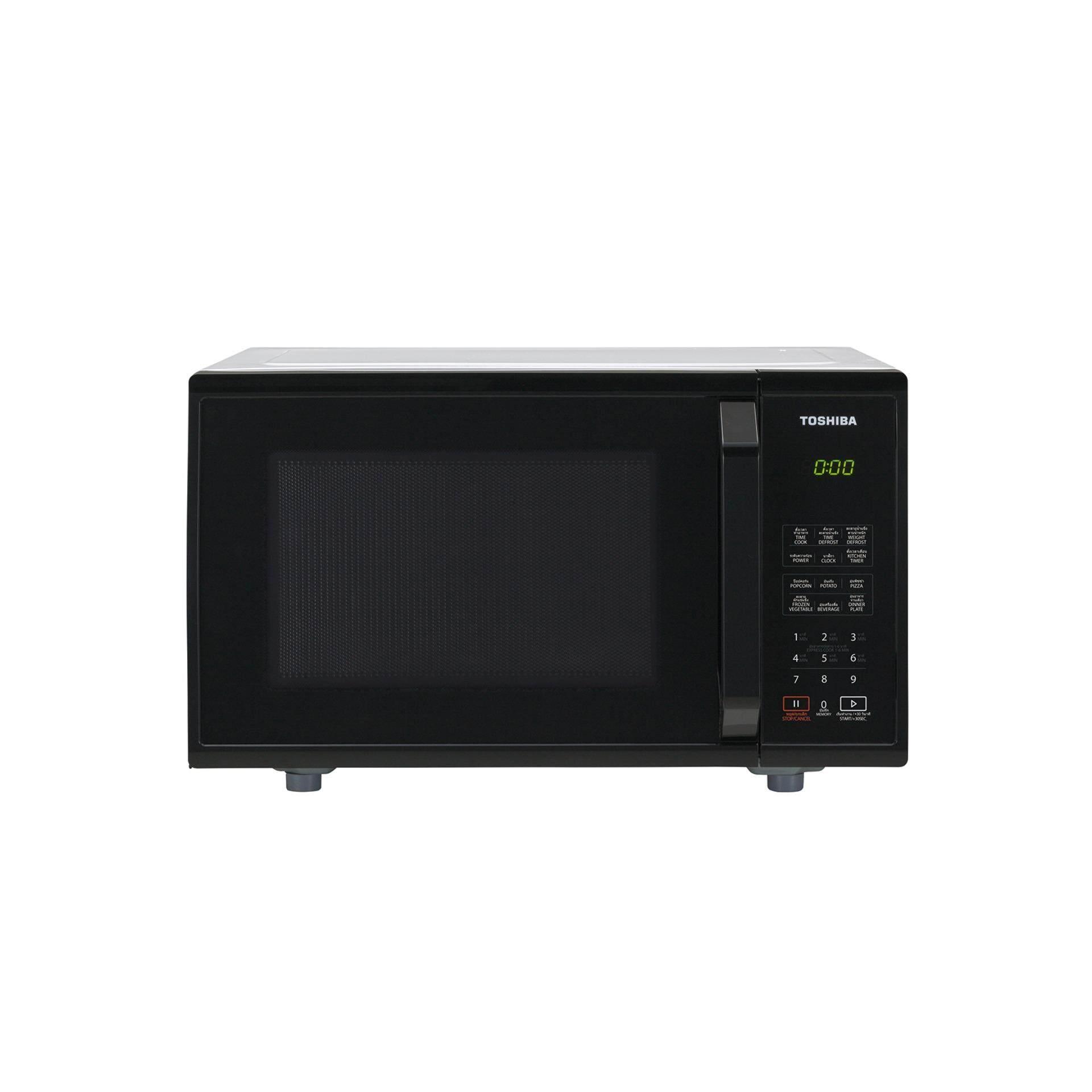 Toshiba ไมโครเวฟ ความจุ 23 ลิตร รุ่น ER-SS23(K)TH