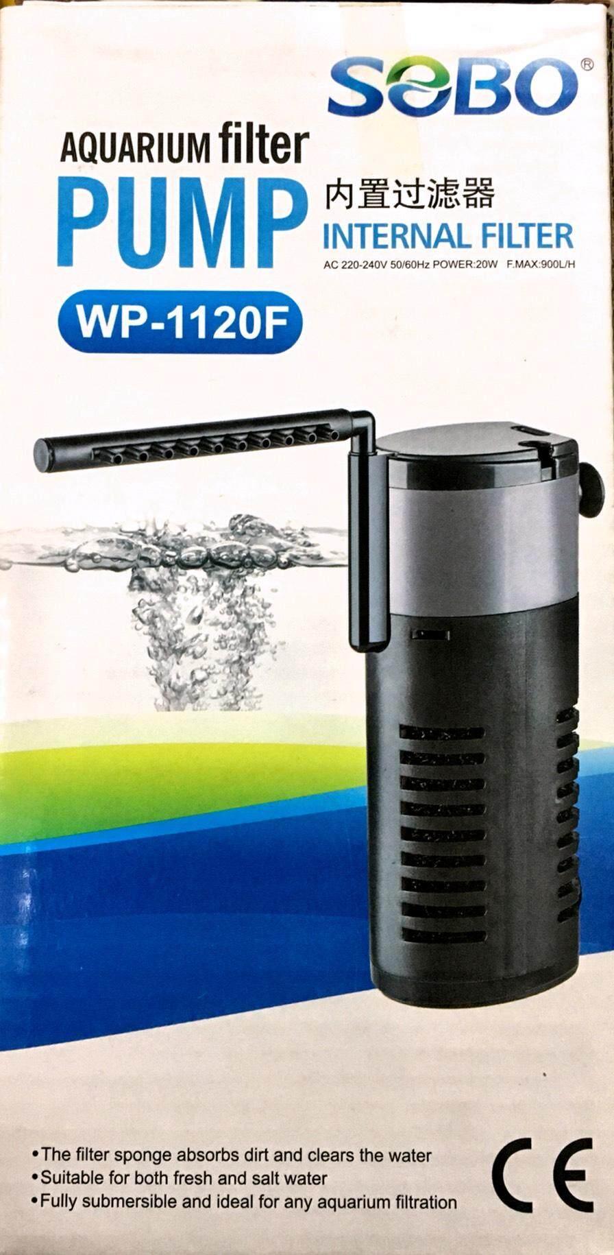 ปั๊มน้ำ SOBO WP-1120F เหมาะสำหรับตู้ปลาขนาด 16-20 นิ้ว