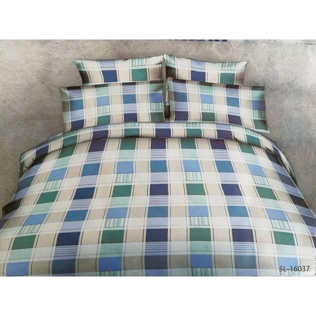 ผ้าปูที่นอนรัดมุม ลายคลาสสิค เกรด A ขนาด 6 ฟุต 5 ชิ้น ไม่รวมผ้านวม ผ้าปูที่นอนเป็นลายด้านบนผ้าห่มนนะคะ รหัส M020 6X5 เป็นต้นฉบับ