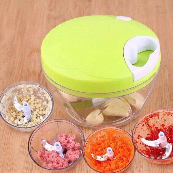 Bazinga เครื่องปั่นอาหารพลังมือ Easy Spin Cutter By Bazinga.