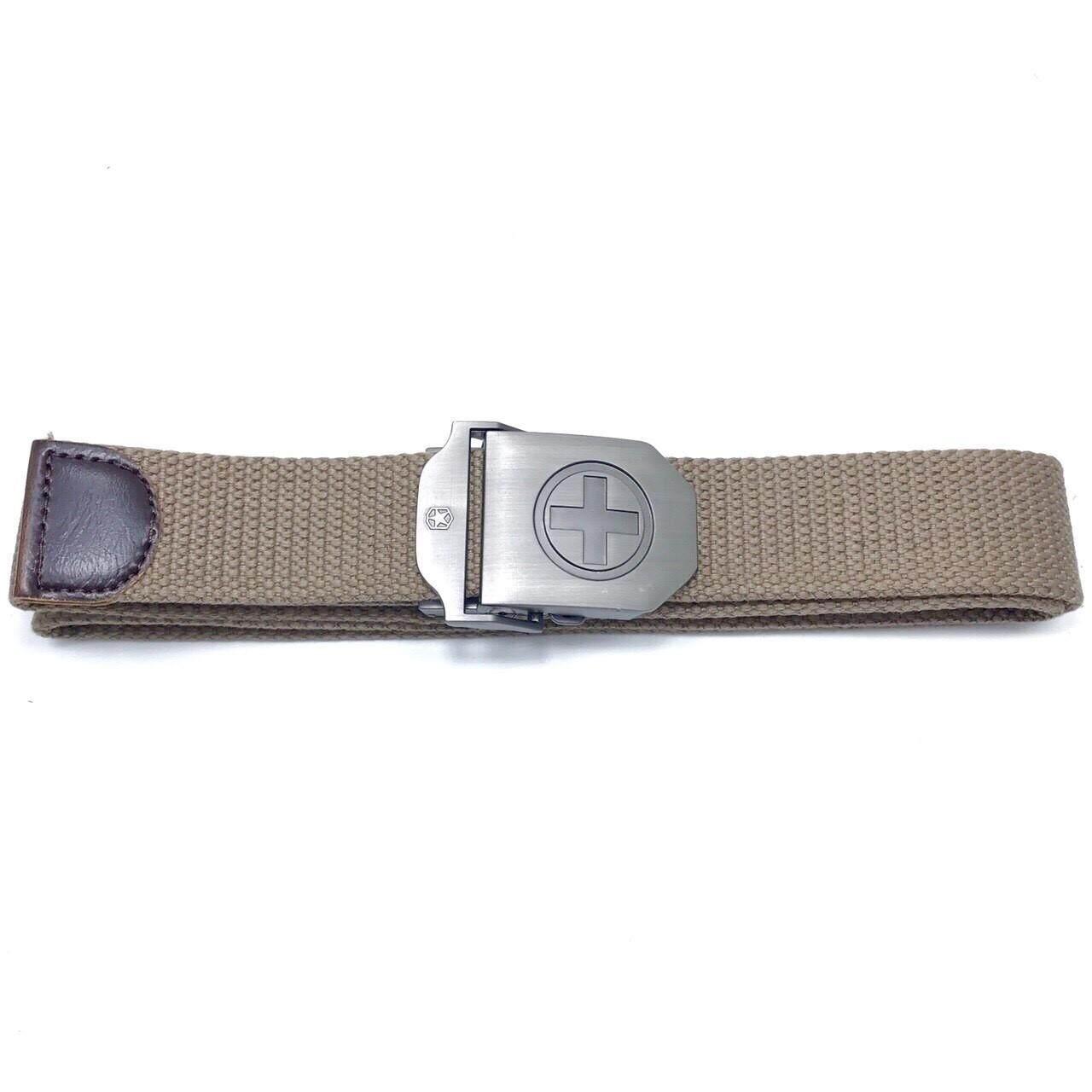 ขาย ซื้อ Chinatown Leather เข็มขัดผ้า Tough บวก สีน้ำตาลอ่อน ใน กรุงเทพมหานคร