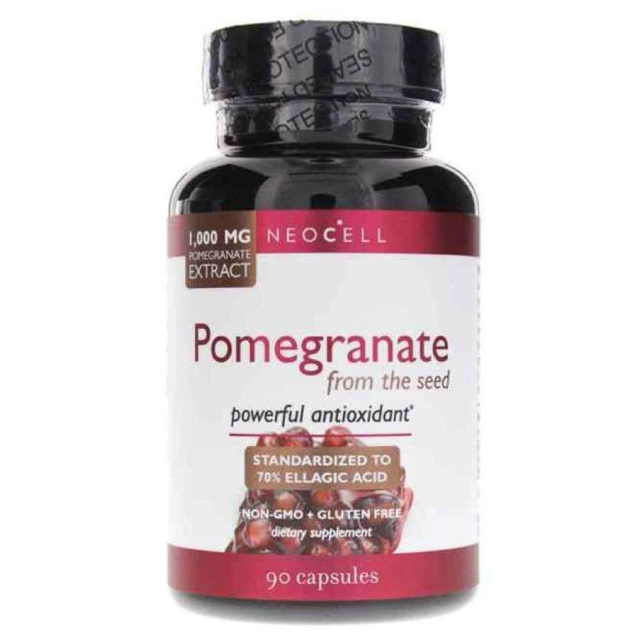 ซื้อ Best Deal Neocell Pomegranate From The Seed สารสกัดจากเมล็ดทับทิม 1000 Mg ขนาด 90 เม็ด ใหม่