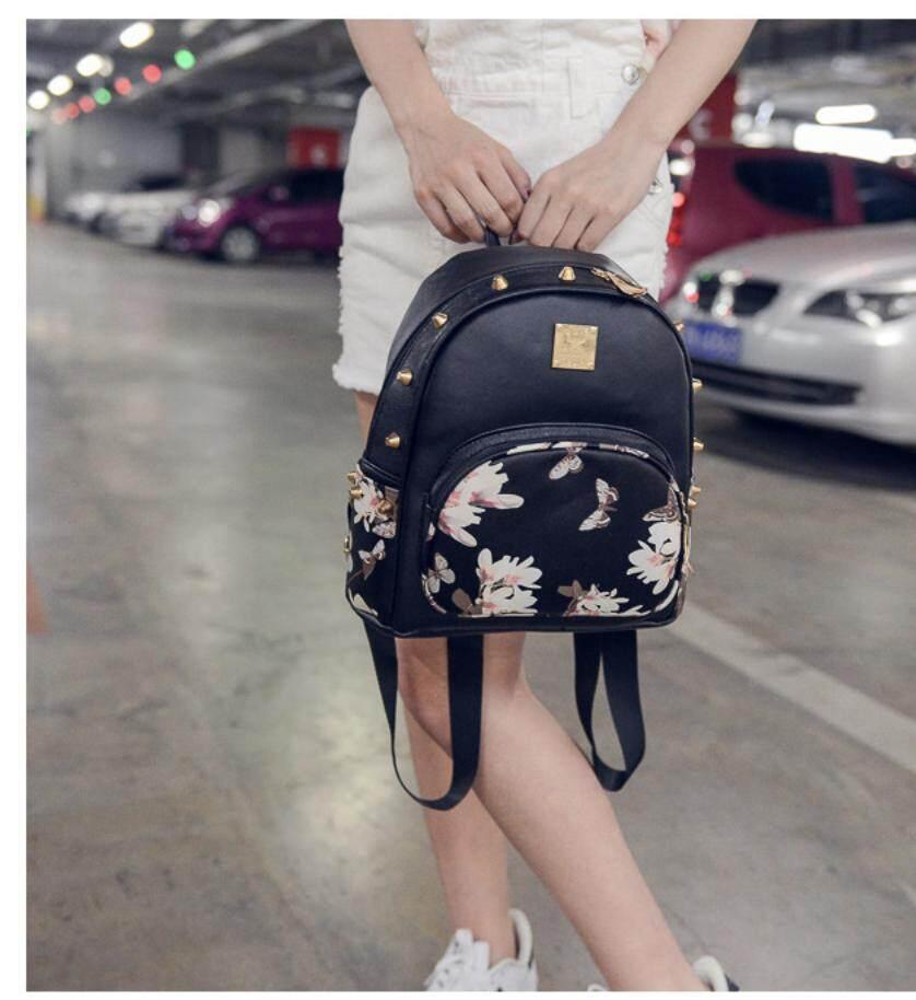 กระเป๋าเป้ นักเรียน ผู้หญิง วัยรุ่น อุดรธานี พร้อมส่งsuper fashion กระเป๋าเป้ กระเป๋าสะพายหลัง Backpack