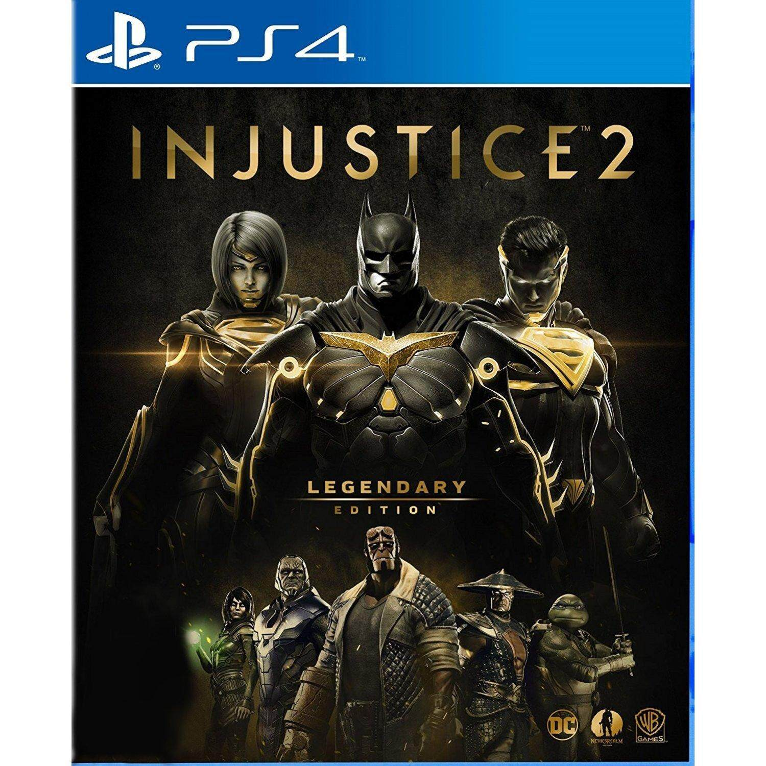 PS4 Injustice 2 Legendary Edition ( Zone 3 / Asia )( English )