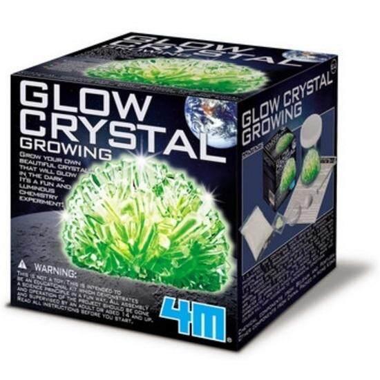 ของเล่น 4m Crystal - Glow Crystal Growing.