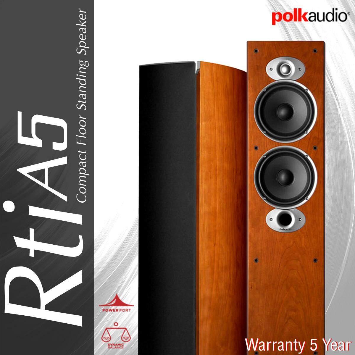 ยี่ห้อไหนดี  ฉะเชิงเทรา Polk Audio RTi A5 Floor-standing speaker รับประกัน 5ปี ศูนย์ POWER BUY จากผู้นำเข้าอย่างเป็นทางการ ราคาต่อ ลำโพง 1คู่ ได้ลำโพง2ตัว ซ้าย-ขวา