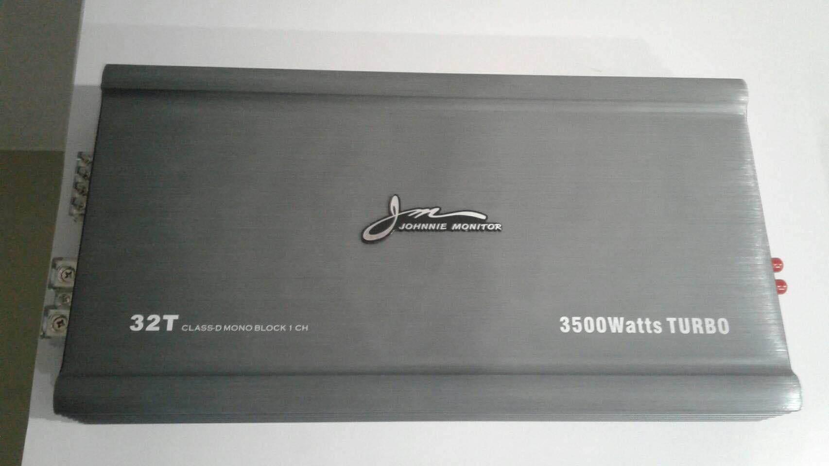 Johnnie Monitor Amp Classd 3500w Turbo รุ่น32t โฉมใหม่ คาปา12ลูก แรงๆ แน่นๆ By Activesound.