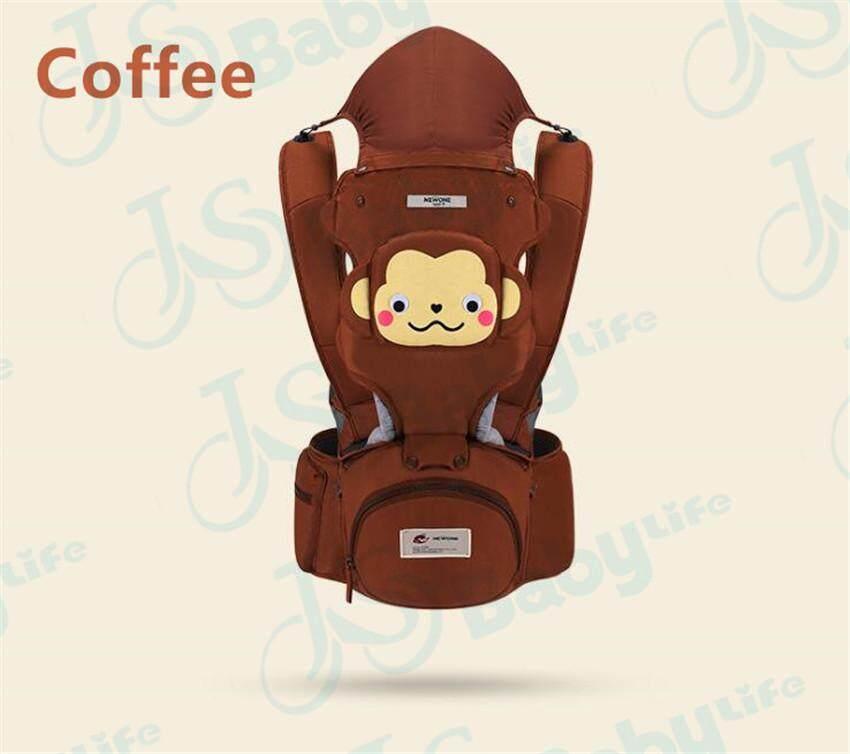 Baby Life เป้อุ้มเด็ก มาใหม่ลายการ์ตูน Hipseat 3 in 1 ยี่ห้อ:Mambo สามารถนั่งและนอนได้ พาสเทล(Pastel) สะพายหน้าและสะพายหลังได้ รุ่น:B16