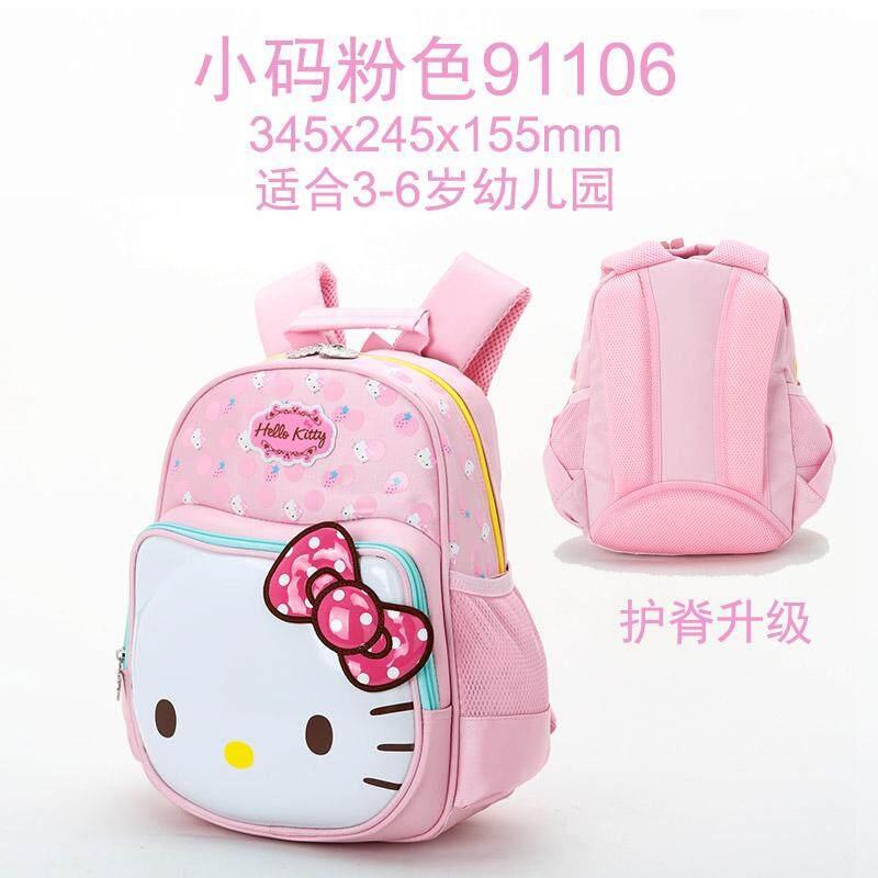ขาย Hellokitty เด็กอนุบาลกระเป๋าเป้โรงเรียนประถมกระเป๋านักเรียน ราคาถูกที่สุด