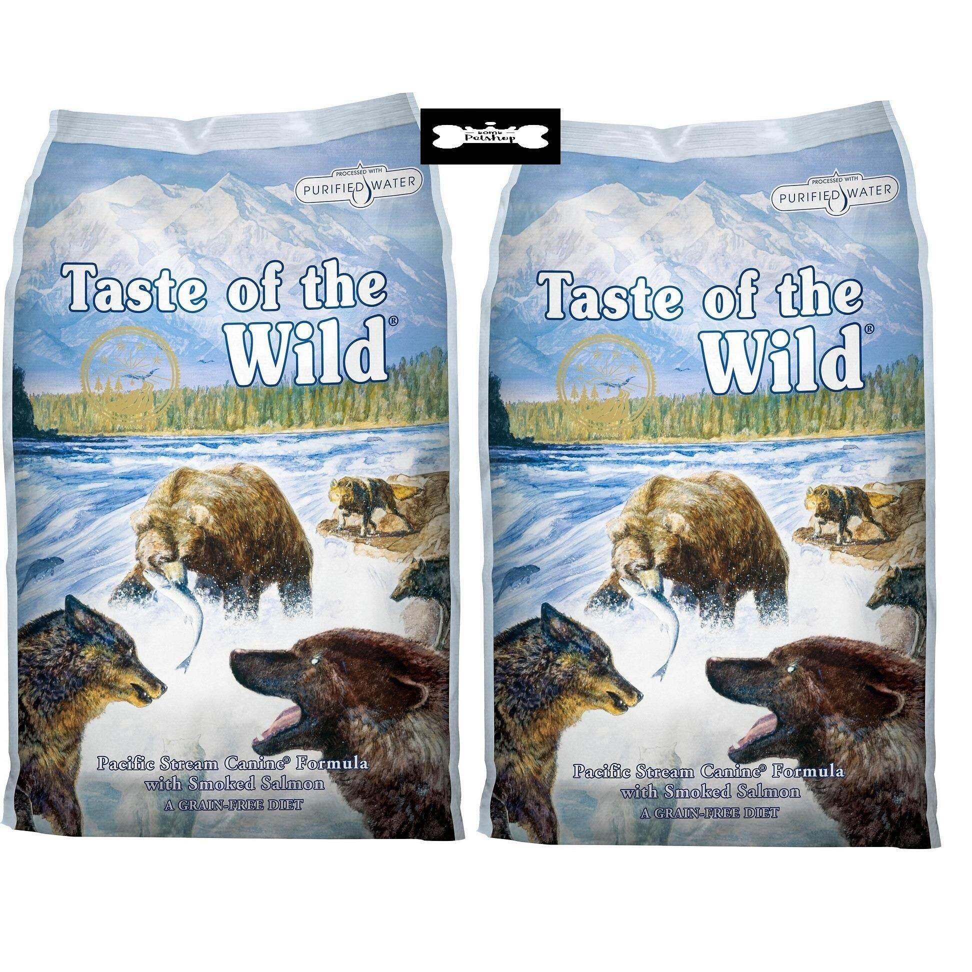 ราคา Taste Of The Wild Smoked Salmon อาหารสุนัขโต ทำจากแซลมอล 1 5Lb Or 68Kg 1 ถุง แถม 1 ถุง ใหม่