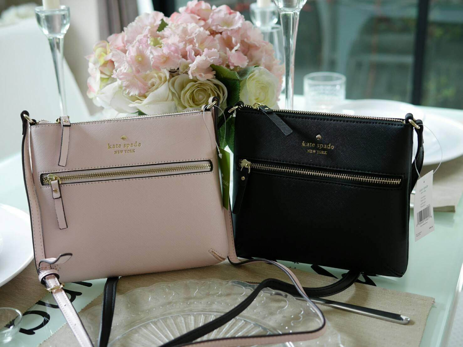 New Arrival Kate Spade New York Saffiano Crossbody Bag.