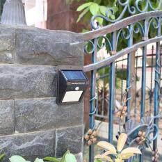 Solar motion sensor light ไฟติดผนังโซล่าเซลล์พลังงานแสงอาทิตย์ 30 led (แพ็ค 2 ชิ้น)
