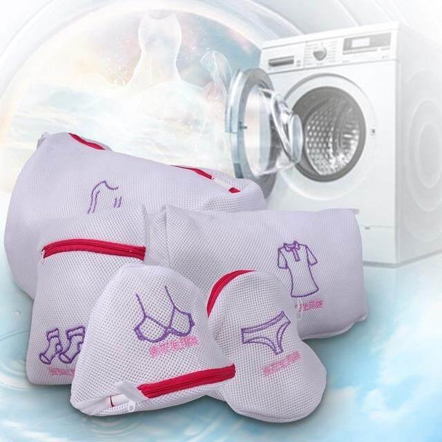 ถุงซักผ้า ถุงซักชุดชั้นใน ถุงซักถนอมผ้า ถุงตาข่ายซักผ้า 5 ชิ้น/ชุด By Leo Shop.