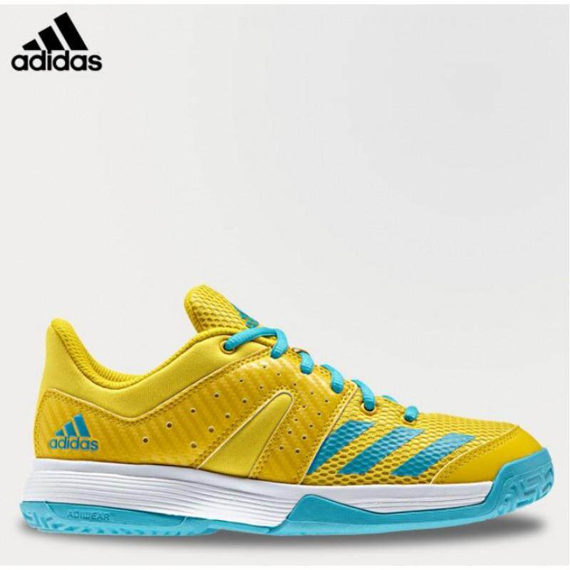 Adidas รองเท้า แบดมินตัน สำหรับเด็ก อดิดาส Badminton Junior Shoe Wucht By1820 (2150) By Landco Sport And Musical.