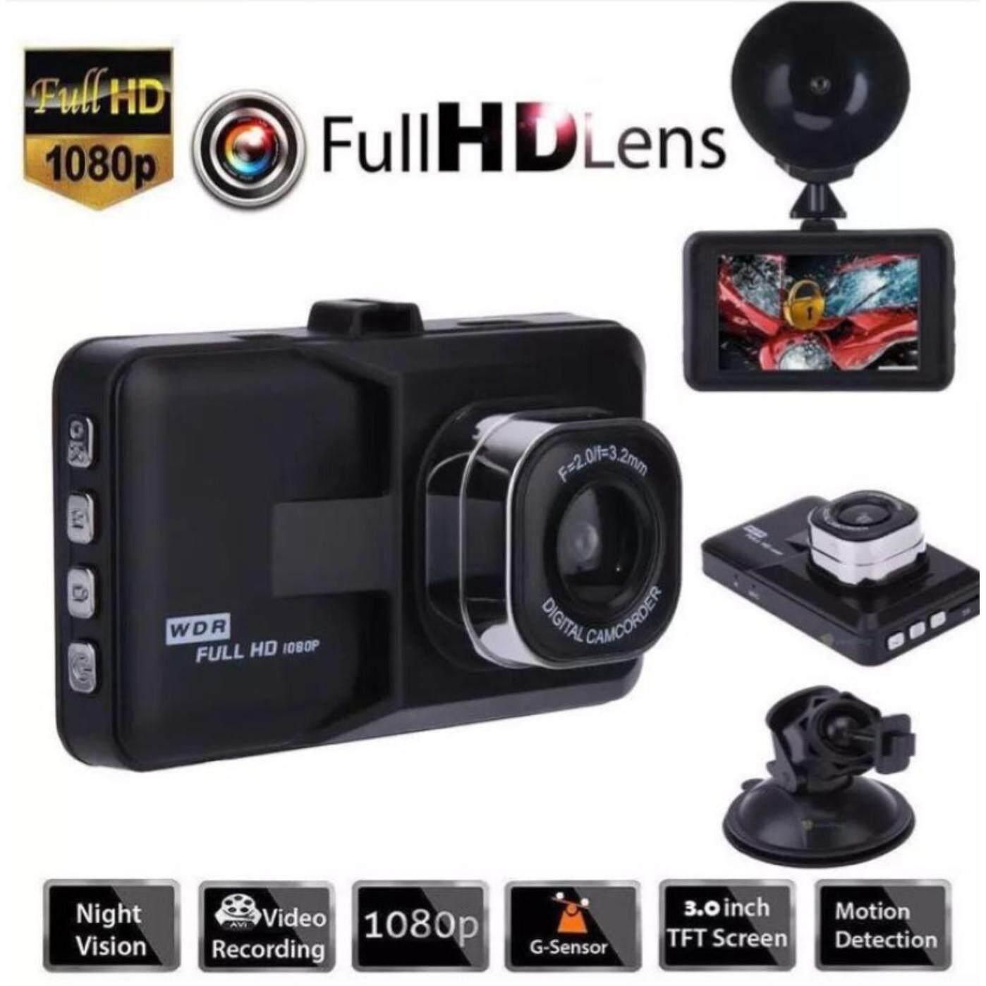 super กล้องติดรถยนต์ FULL HD CAR DVR Lens Wide 170 องศา จอ 3 นิ้ว รุ่น T626 Night version