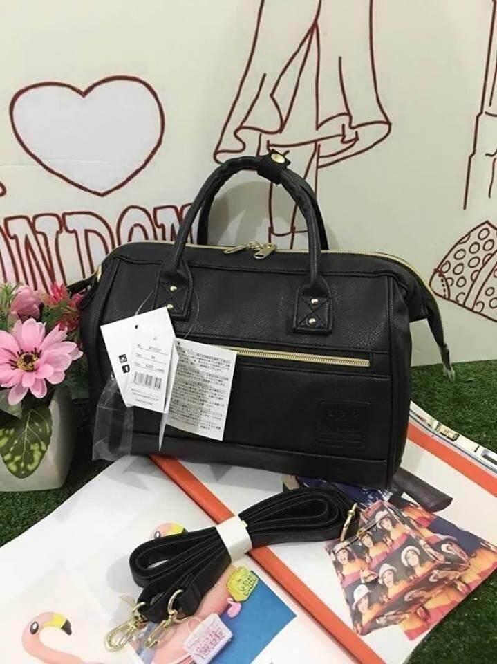 บัตรเครดิตซิตี้แบงก์ รีวอร์ด  กระบี่ Anello polyester 2 way mini boston bag จากแบรนด์ดังในประเทศญี่ปุ่น (งานแบรนด์แท้)