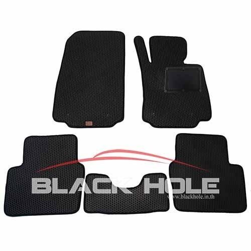 ซื้อ Blackhole Carmat พรมรถยนต์เข้ารูป 2 ชั้น Mazda 2 Diesel 2015 ปัจจุบัน Black Rubber Pad รุ่น Jmam2Zbr สีดำ Blackhole เป็นต้นฉบับ