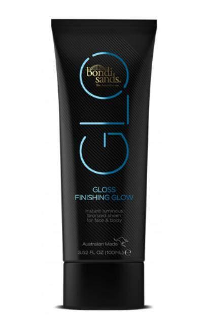 ครีมผิวแทนแบบล้างออกได้ Bondi Sands Glo Gloss Finishing Glow Tanning Cream 100 Ml.