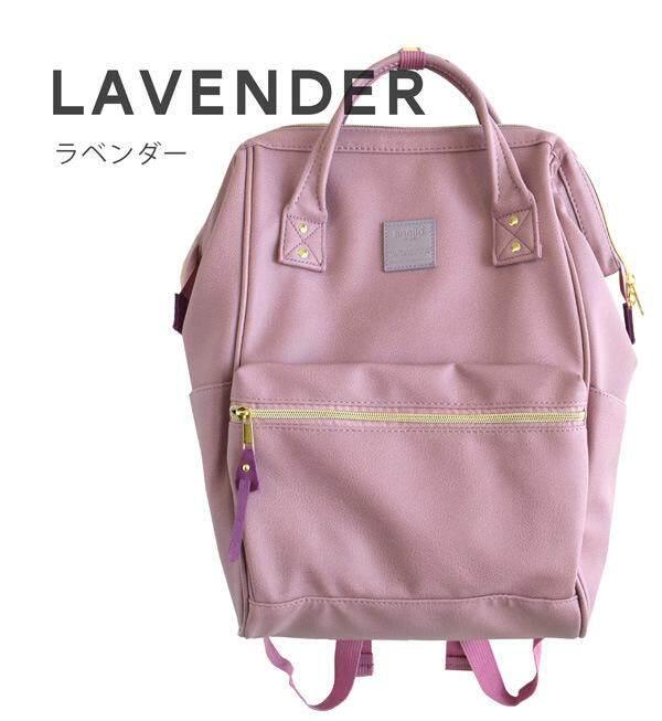 สิงห์บุรี กระเป๋าเป้สะพายหลัง Anello PU Backpack (Classic Size) - Japan Imported 100%