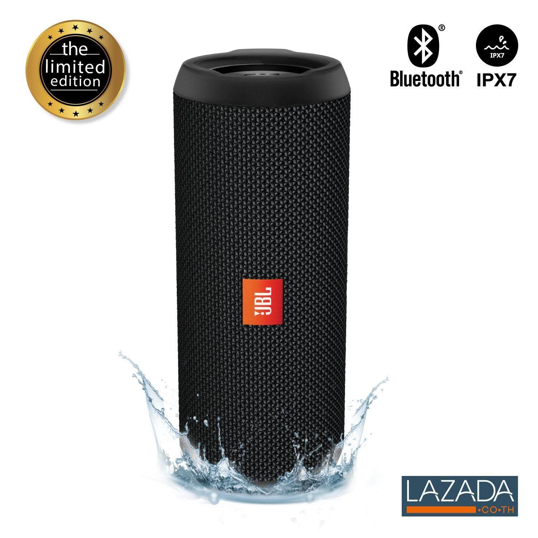Jbl Flip 3 Stealth ( ลำโพงบลูทูธ , เครื่องเสียง , Bluetooth , ลำโพงกลางแจ้ง , บลูทูธไร้สาย ).