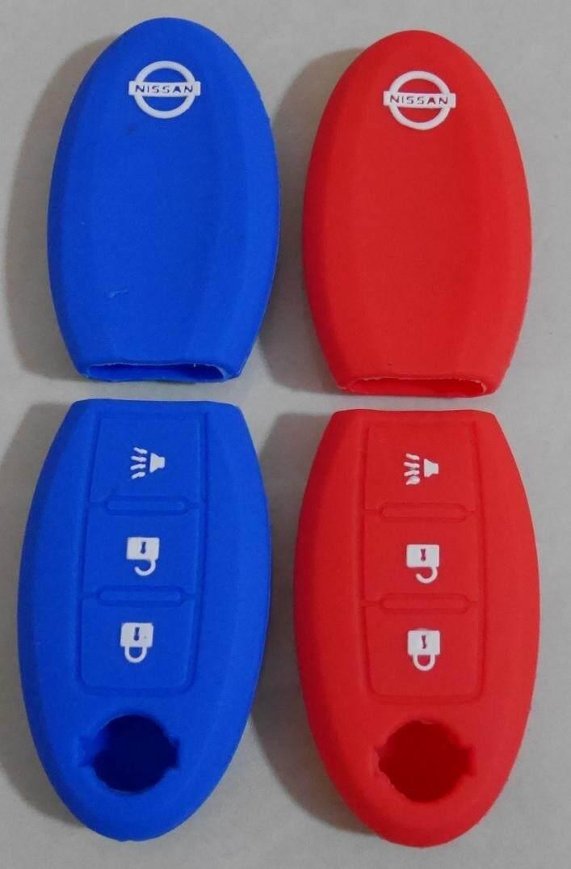 ลดสุดๆ ซิลิโคนแบบหนา  Nissan March / Juke / Note / Navara (Smart Key)  ส่งฟรี Kerry เก็บเงินปลายทางได้ * ทักแชทเพื่อเลือกสีก่อนสั่งซื้อ*