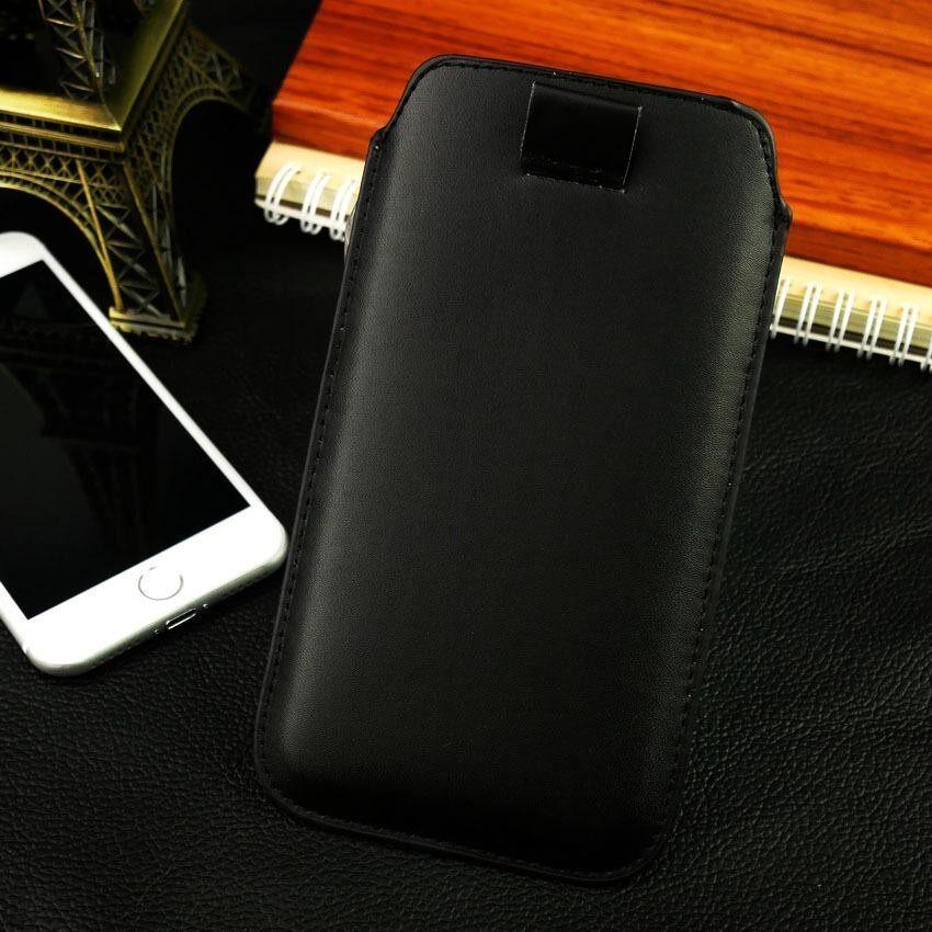 BestSeller !! Pull up กระเป๋า เคส ซองหนัง ASUSZenFone 3 (ZE520KL) สีดำ