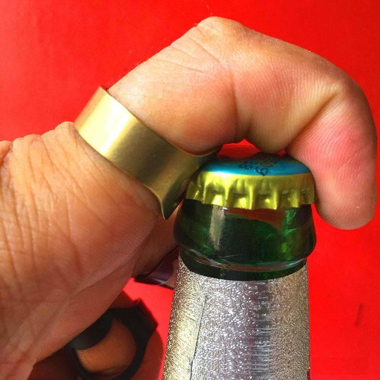 แหวนเปิดขวด ที่เปิดฝาขวดแบบแหวน Bottle Opener By Chatdanai.