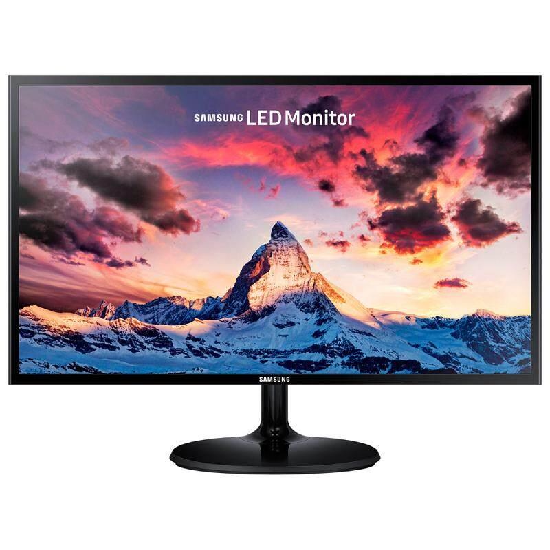 เก็บเงินปลายทางได้ [Wevery] Samsung จอมอนิเตอร์ LED 23.5 นิ้ว PLS Flat SF350 Full HD SSG-LS24F350FHET/Black High Glossy/ประกัน 3 ปี จอคอม จอคอมพิวเตอร์  monitor ส่ง Kerry เก็บปลายทางได้