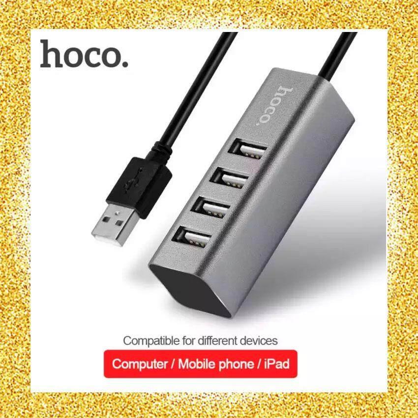 Hoco Hb1 4-Port Usb Hub เพิ่มช่องเสียบusb(ดำ) By Anakin.