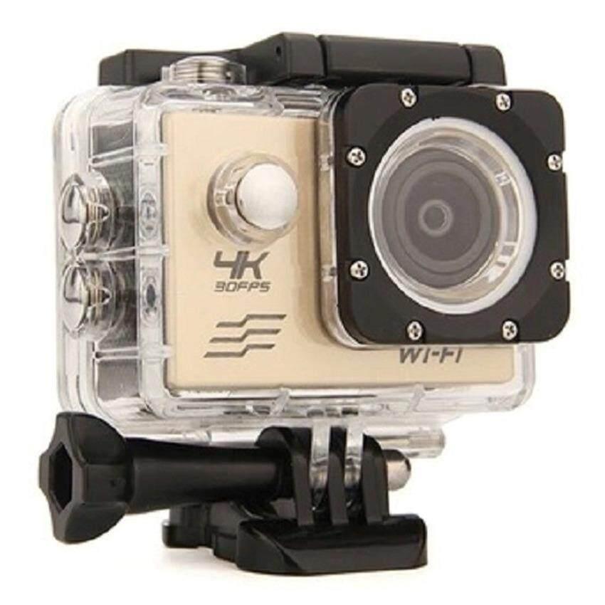 Zetouch H16 GOLD 2.0 Inch 4K  Full HD  1080P Waterproof 30M Sports Cam Wifi Action Camera Intl  (Silver) กล้องถ่ายวิดีโอ ความระเอียด 4K ถ่ายใต้น้ำได้ 30 เมตร