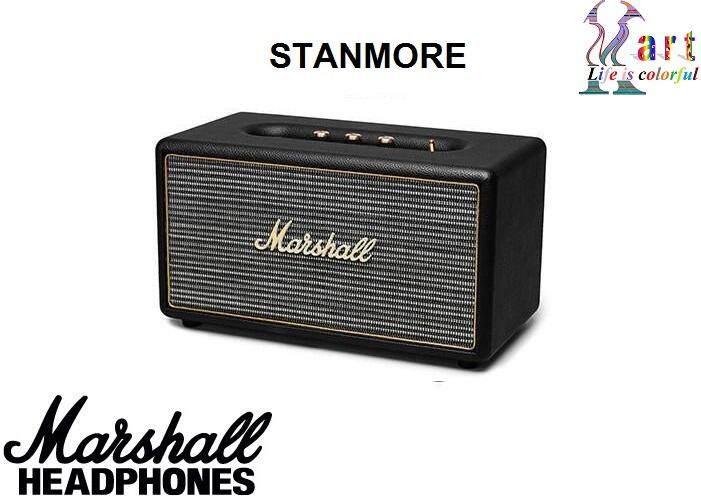 ยี่ห้อนี้ดีไหม  ฉะเชิงเทรา Marshall Stanmore Bluetooth Speaker ลำโพงบลูทูธสเตอริโอกะทัดรัด รับประกัน 1 ปี
